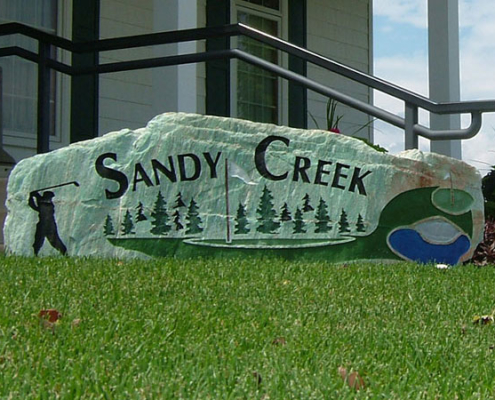 Sandy Creek Welcome
